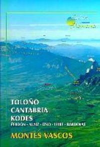 9788488960450: Toloño/Cantabria/kodes - Montes vascos (Guias De Montaña)