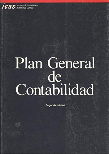 9788489006201: PLAN GENERAL DE CONTABILIDAD