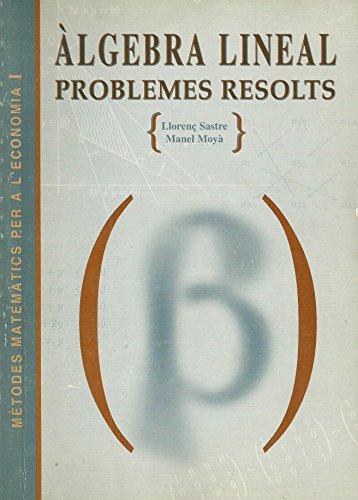 Àlgebra lineal: Sastre Moragues, Llorenç
