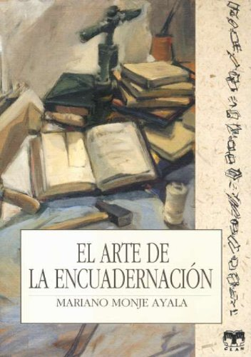 Arte encuadernacion: Monje, Mariano