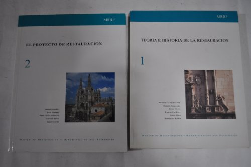 9788489150157: Teoria e historia de la restauracion,t.1(restauracion y rehabilitacion patrimonio)
