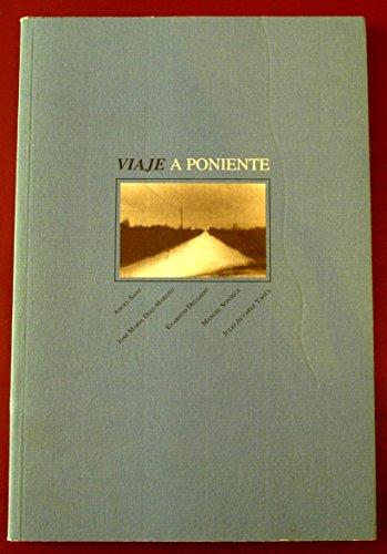 9788489162303: Viaje a Poniente
