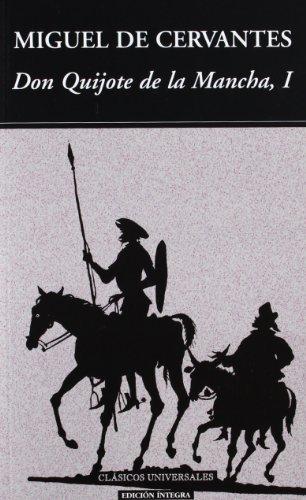 9788489163447: Don Quijote de la Mancha I (Clásicos universales)