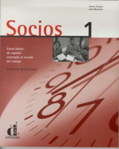 Socios 1. Cuaderno de ejercicios.: CORPAS, Jaime