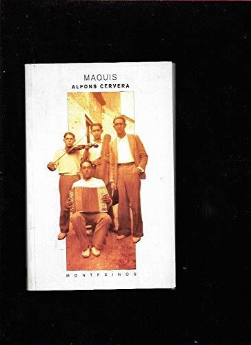 9788489354487: Maquis