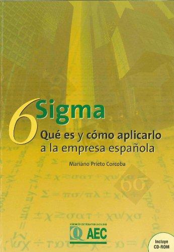 9788489359703: 6 Sigma