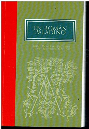 9788489362444: En roman paladino (Spanish Edition)