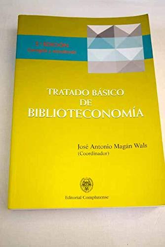 9788489365742: Tratado basico de biblioteconomia
