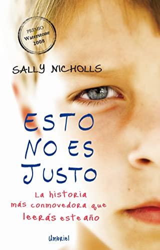 9788489367562: Esto no es justo (Spanish Edition)