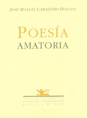 9788489371767: Poesia Amatoria (Calle del Aire)