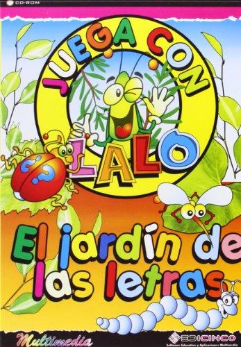 9788489448643: (CD-rom) juega con lalo - el jardin de las letras (4-7 años)