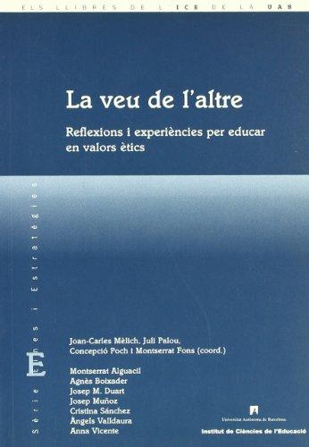 La veu de l altre : reflexions: Joan-Carles Mèlich i