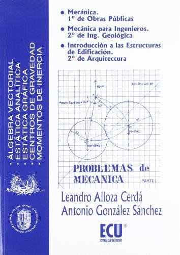 9788489522121: Problemas de mecánica I