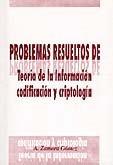 9788489522633: Problemas resueltos de teoría de la información, codificación y criptología