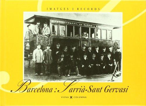 9788489553095: Barcelona, sarri?-sant gervasi