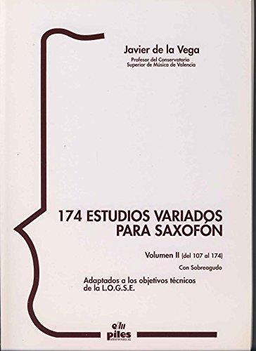 9788489595354: 174 Estudios Variados para Saxofón II