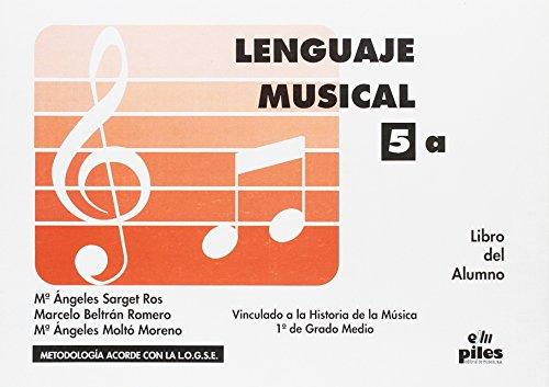 9788489595842: Lenguaje Musical. Libro Alumno Nº 5a