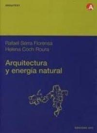 9788489636453: Arquitectura y energia natural