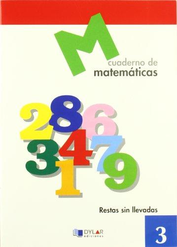 9788489655560: MATEMATICAS 3 - Restas sin llevadas