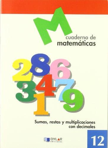 9788489655652: Cuaderno de matemáticas, n. 12