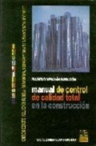 MANUAL DE CONTROL TOTAL DE CALIDAD EN: MERCHÁN GABALDÓN, FAUSTINO