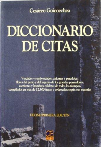 9788489656406: Diccionario de Citas