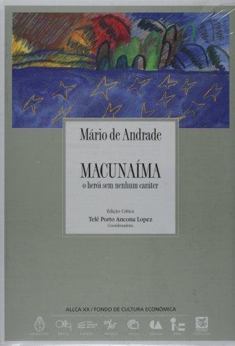 9788489666054: Macunaima : O heroi sem nenhum carater, édition en langue portugaise
