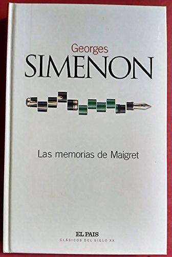 9788489669987: Las memorias de Maigret