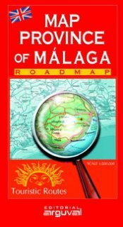 9788489672987: Mapa de La Provincia de Málaga (MAPAS DE CARRETERAS)