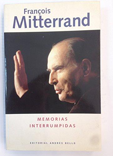 9788489691018: Memorias Interrumpidas (Spanish Edition)