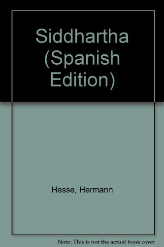 Siddhartha (Spanish Edition): Hesse, Hermann