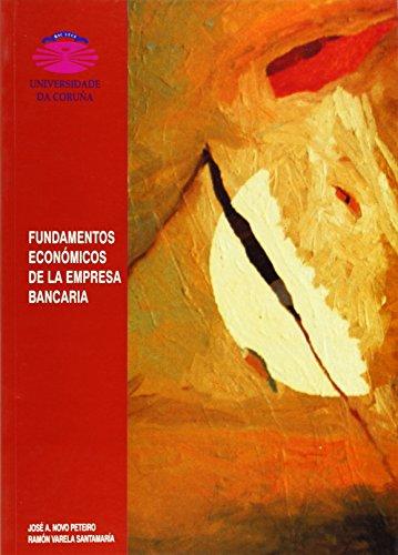9788489694057: Fundamentos economicos de la empresa bancaria (Spanish Edition)