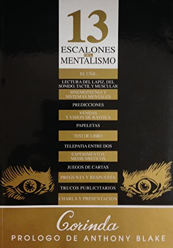 9788489749009: 13 escalones del mentalismo (Spanish Edition)