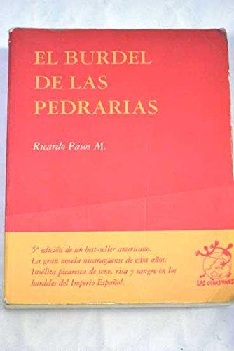 9788489753884: El Burdel de las Pedrarias