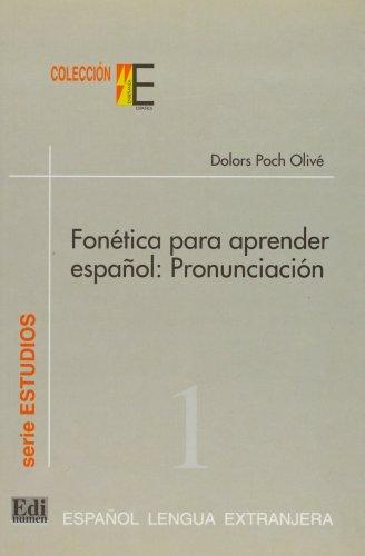 9788489756069: FONETICA PARA APRENDER ESPANOL