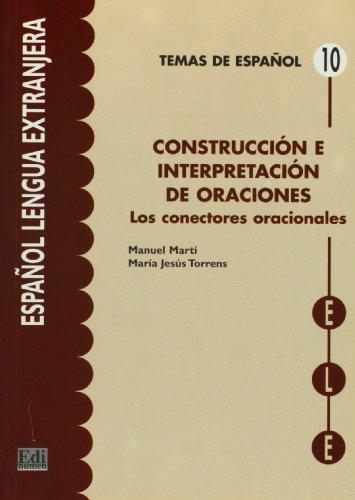 9788489756670: Construcción e interpretación de oración (Temas de Español)