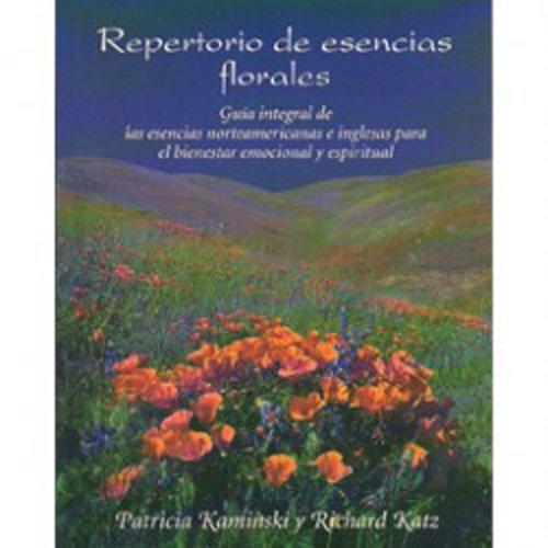 9788489768222: Repertorio de esencias florales