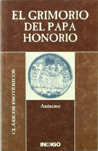 9788489768888: Grimorio del papa honorio, el