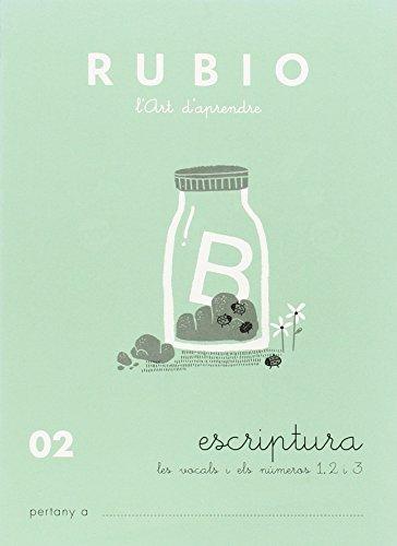 9788489773424: Rubio. Escritura 02