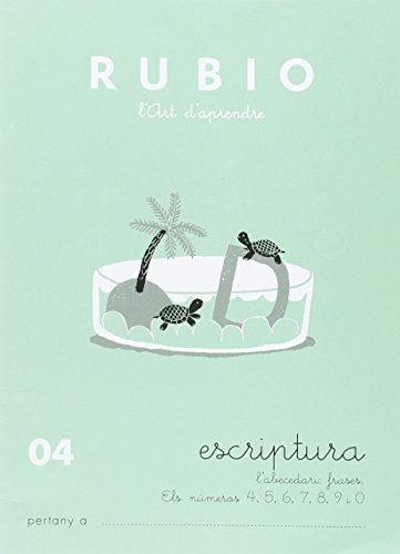 9788489773448: Rubio. Escritura 04