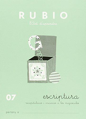9788489773479: Rubio. Escritura 07