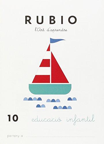 9788489773752: Rubio, L'art d'aprendre, Educació Infantil. Quadern 10