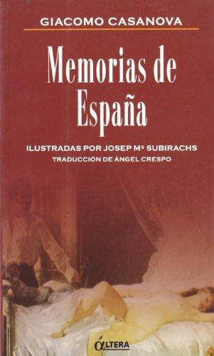 9788489779259: Memorias de España