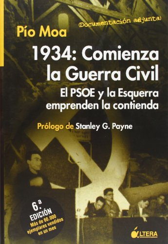 9788489779594: 1934: comienza la Guerra civil. el psoe y esquerra emprenden contienda