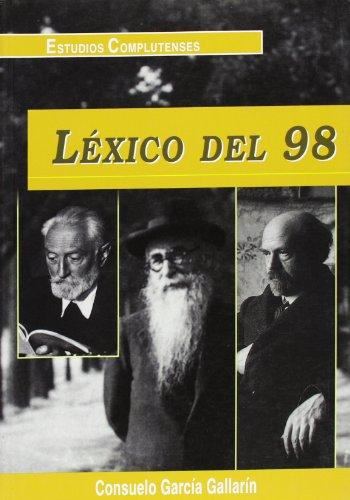 9788489784444: Lexico del 98 (Spanish Edition)