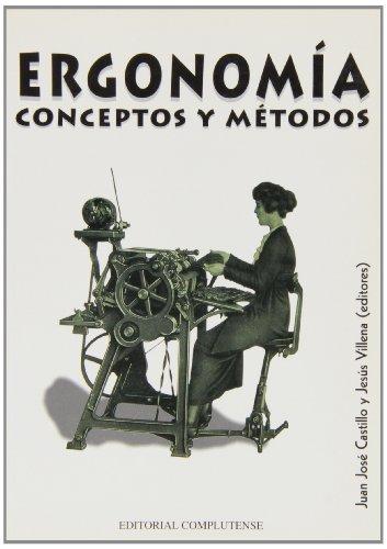 9788489784635: Ergonomia - Conceptos y Metodos (Spanish Edition)
