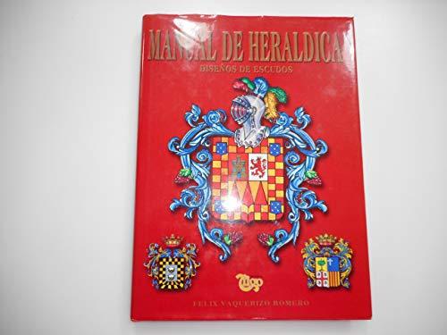 9788489787193: Manual de heraldica - diseños de escudos
