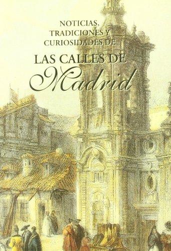 9788489787438: Las calles de Madrid
