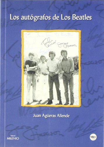 9788489790742: Los autógrafos de los Beatles (Música)