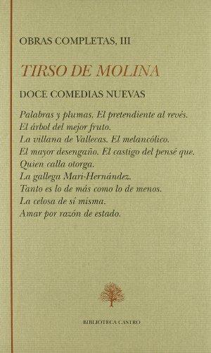 Obras Completas De Tirso De Molina (Biblioteca: Tirso de Molina